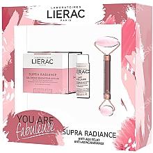 Духи, Парфюмерия, косметика Набор - Lierac Supra Radiance Set (f/cr/50ml + f/milk/30ml + roller/1pcs)