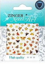 Духи, Парфюмерия, косметика Наклейки для дизайна ногтей, fda-198 - Zinger Nail Art Sticker