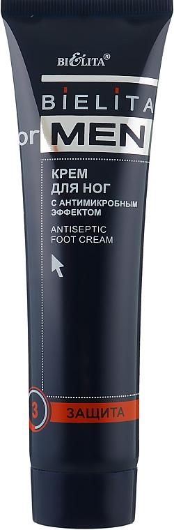 Крем для ног с антимикробным эффектом - Bielita For Men