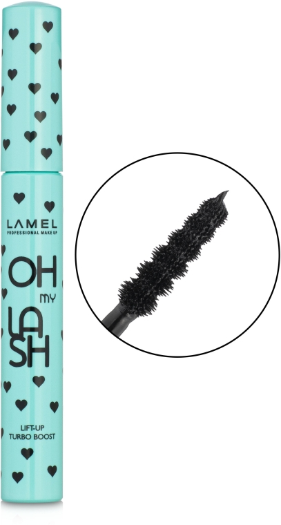 Тушь для ресниц - Lamel Professional Oh My Lash Lift-Up Turbo Boost