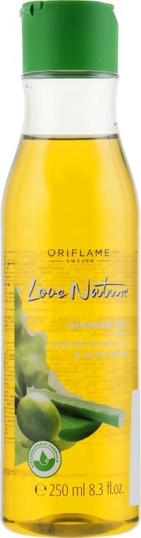 "Гель для душа ""Олива и алоэ"" - Oriflame Love Nature Shower Gel"