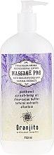 "Духи, Парфюмерия, косметика Молочко для массажа ""Пина колада"" - Oranjito Massage Pro Pina Colada Massage Body Milk"