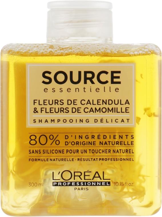 Шампунь для чувствительной кожи головы - L'Oreal Professionnel Source Essentielle Delicate Shampoo