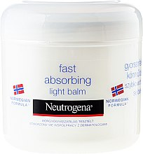 Духи, Парфюмерия, косметика Бальзам для тела - Neutrogena Norwegian Formula Fast Absorbing Light Balm