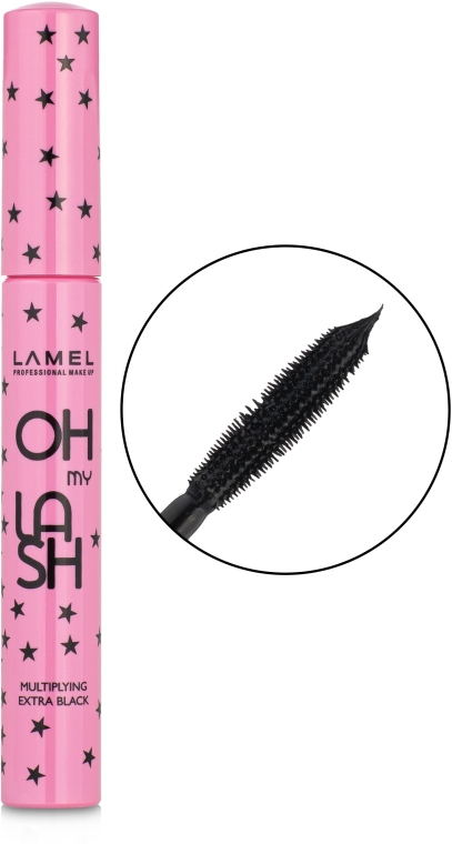 Тушь для ресниц - Lamel Professional Oh My Lash Multiplying Extra Black