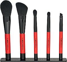 Духи, Парфюмерия, косметика Набор кистей для макияжа, 5 штук - The Orchid Skin Magnetic Brush Pouch Set