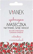 Духи, Парфюмерия, косметика Укрепляющая маска на лицо, шею и декольте - Vianek Face Mask