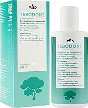 Парфумерія, косметика Ополіскувач для порожнини рота з маслом чайного дерева - Wild-Pharma Tebodont