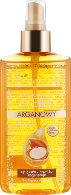 Аргановое масло 3 в 1 для тела, лица и волос - Bielenda Drogocenny Olejek