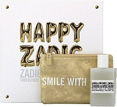 Духи, Парфюмерия, косметика Zadig & Voltaire This is Her - Набор (edp/50ml + pouch)