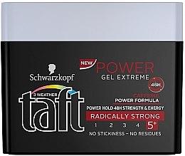 Духи, Парфюмерия, косметика Гель для укладки волос - Schwarzkopf Taft Power Gel Extreme