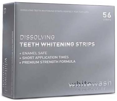 Профессиональные растворимые отбеливающие полоски - WhiteWash Laboratories Dissolving Teeth Whitening Strips