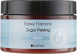 "Духи, Парфюмерия, косметика Сахарный пилинг для тела ""Детокс"" - Barwa Harmony Sugar Peeling Detox"
