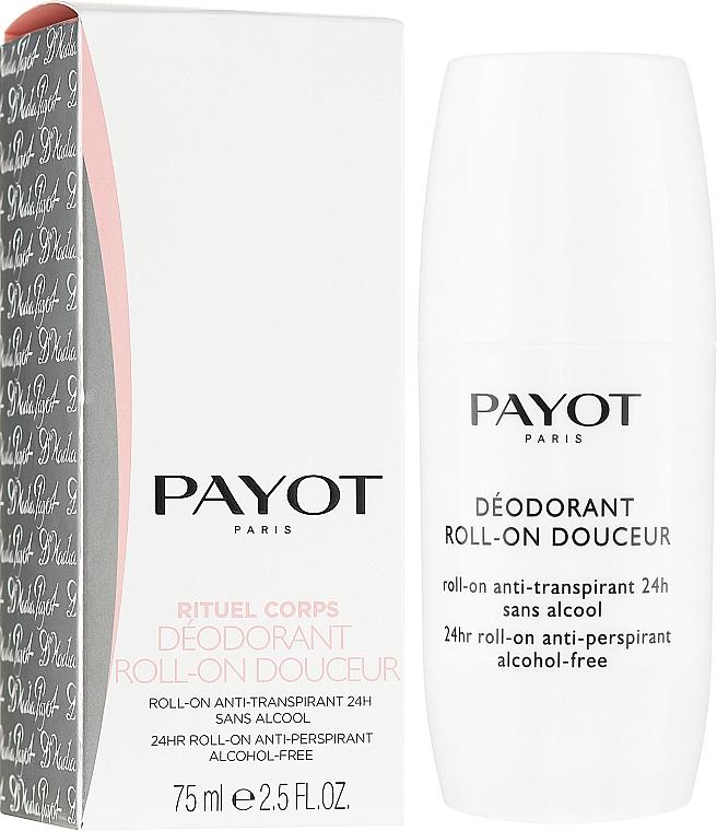 Шариковый дезодорант - Payot Le Corps Deodorant Ultra Douceur Alcohol Free Roll On Deodorant