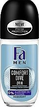 Духи, Парфюмерия, косметика Роликовый дезодорант - FA Men Comfort Dive Deodorant