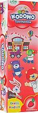 """Духи, Парфюмерия, косметика Детская зубная паста """"Земляника"""" с игрушкой - Kodomo Lion Special Toothpaste For Children Strawberry"""