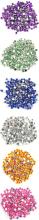 Духи, Парфюмерия, косметика Камни для декора цветные маленькие на планшете Di853 - Divia Professional