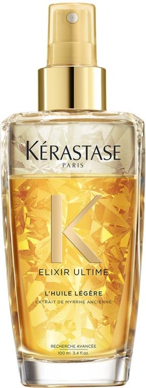 Двухфазное масло-спрей для тонких и нормальных волос - Kerastase Elixir Ultime L'Huile Legere