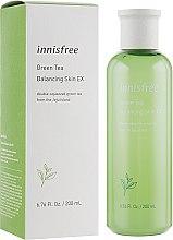 Духи, Парфюмерия, косметика Балансирующий тонер с экстрактом зеленого чая - Innisfree Green Tea Balancing Skin Toner
