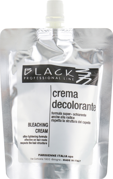 Паста для осветления волос - Black Professional Line Bleaching Cream