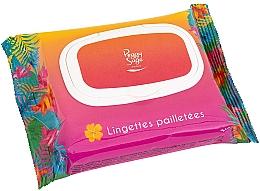 Духи, Парфюмерия, косметика Салфетки для лица и тела с блеском - Peggy Sage Glitter Wipes