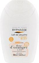 "Духи, Парфюмерия, косметика Крем для душа ""Цветок апельсина"" - Byphasse Caresse Shower Cream"
