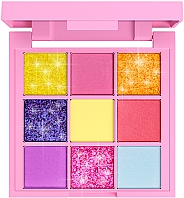 Духи, Парфюмерия, косметика Палетка пигментов для макияжа 9 цветов - 7 Days Your Emotions Today Cute Palette