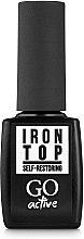 Духи, Парфюмерия, косметика Топ для гель-лака без липкого слоя - GO Active Iron Top Self Restoring