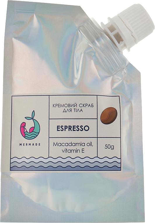 Кремовый скраб для тела - Mermade Espresso Creamy Body Scrub