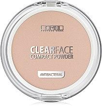 Духи, Парфюмерия, косметика Пудра компактная антибактериальная - Lamel Professional Clearface Compact Powder