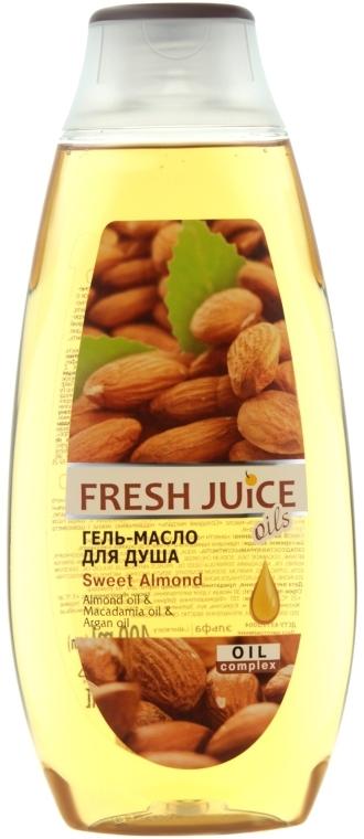 """Гель-масло для душа """"Сладкий миндаль"""" - Fresh Juice Oils Sweet Almond"""