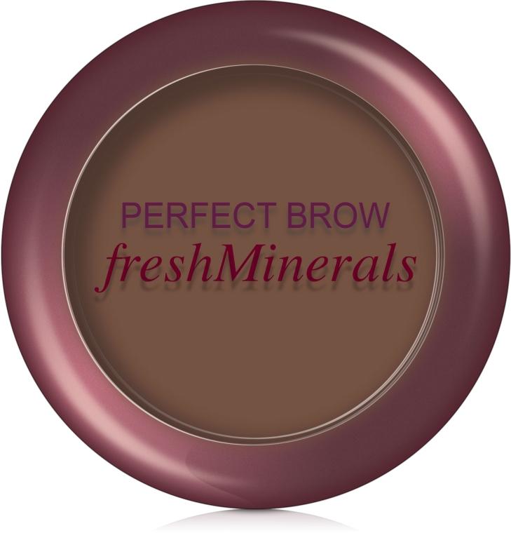 Минеральные компактные тени для бровей - FreshMinerals Mineral Perfect Eyebrow