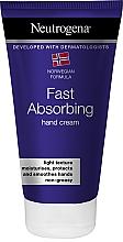 """Духи, Парфюмерия, косметика Быстровпитываемый легкий крем для рук """"Норвежская формула"""" - Neutrogena Norwegian Formula Fast Absorbing Light Texture Hand Cream"""