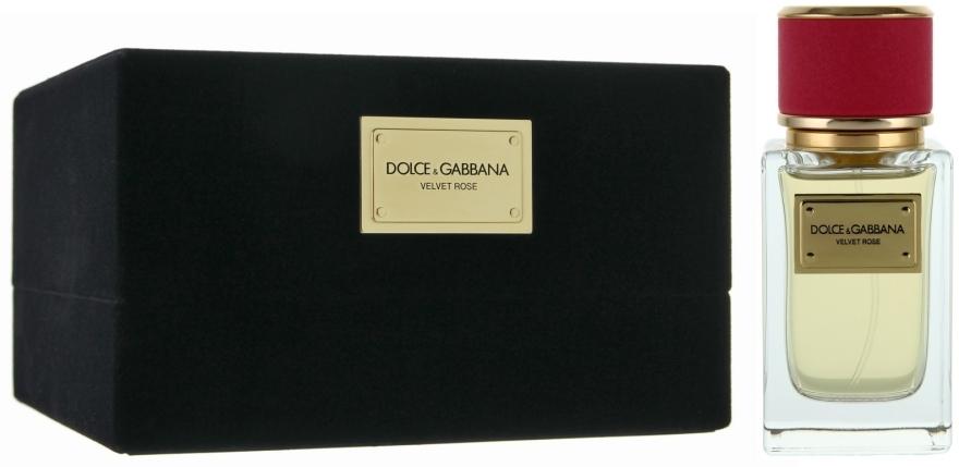 Dolce&Gabbana Velvet Rose - Парфюмированная вода (тестер с крышечкой)