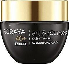 Духи, Парфюмерия, косметика Ночной крем-лифтинг для лица - Soraya Art&Diamonds Lifting Night Cream 40+