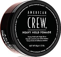 Духи, Парфюмерия, косметика Помада для стайлинга супер стойкая - American Crew Heavy Hold Pomade