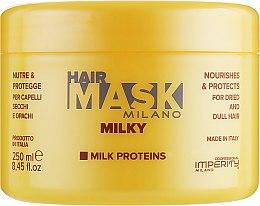 Духи, Парфюмерия, косметика Маска для сухих и поврежденных волос - Imperity Milano Milky Hair Mask