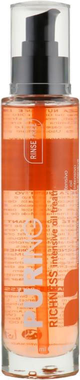 Масло для волос интенсивно питательное - Puring Richness Intense Oil Treatment