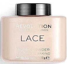 Духи, Парфюмерия, косметика Пудра для лица - Makeup Revolution Lace Luxury Baking Powder
