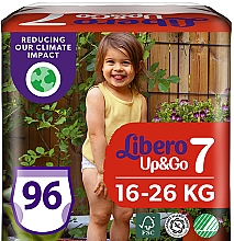 Духи, Парфюмерия, косметика Подгузники-трусики Up&Go 7 (16-26 кг), 96 шт (3х32) - Libero