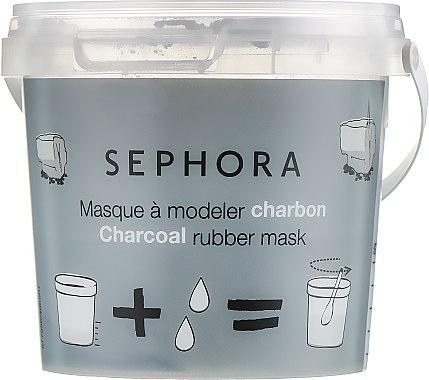 """Альгинатная маска для лица """"Древесный уголь"""" - Sephora Charcoal Rubber Mask — фото N2"""