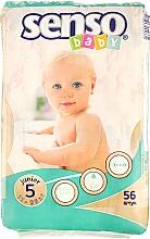 Духи, Парфюмерия, косметика Подгузники Junior 5 (11-25 кг), 56 шт - Senso Baby