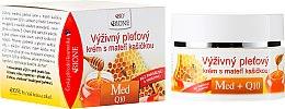 Духи, Парфюмерия, косметика Питательный крем для лица с маточным молочком - Bione Cosmetics Honey + Q10 Cream