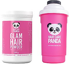 Духи, Парфюмерия, косметика Набор - Noble Health Hair Care Panda (h/powder/100g + shaker)