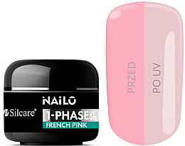 Духи, Парфюмерия, косметика Гель для ногтей - Silcare Nailo 1-Phase Gel UV French Pink