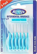 Духи, Парфюмерия, косметика Межзубные щетки, 0,6мм, голубые - Beauty Formulas Active Oral Care Interdental Brushes Blue