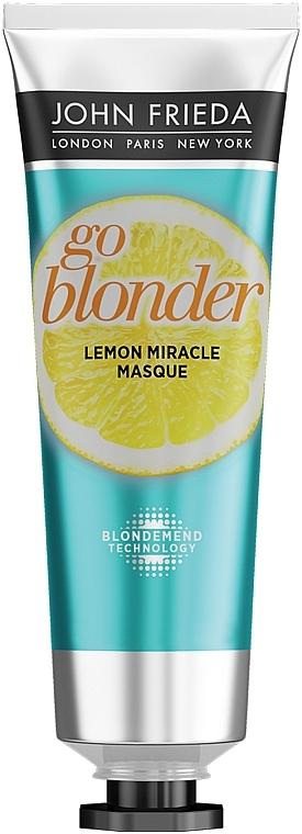 Укрепляющая маска для ослабленных волос - John Frieda Sheer Blonde Go Blonder Lemon Miracle