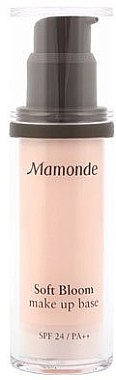 База под макияж - Mamonde Soft Bloom Make Up Base SPF24 PA++ — фото N1