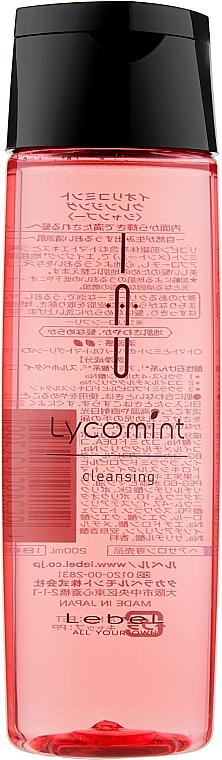 Освежающий аромашампунь - Lebel IAU Lycomint Cleansing