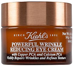Духи, Парфюмерия, косметика Крем для кожи вокруг глаз сокращающий морщины и препятствующий их появлению - Kiehl`s Powerful Wrinkle Reducing Eye Cream
